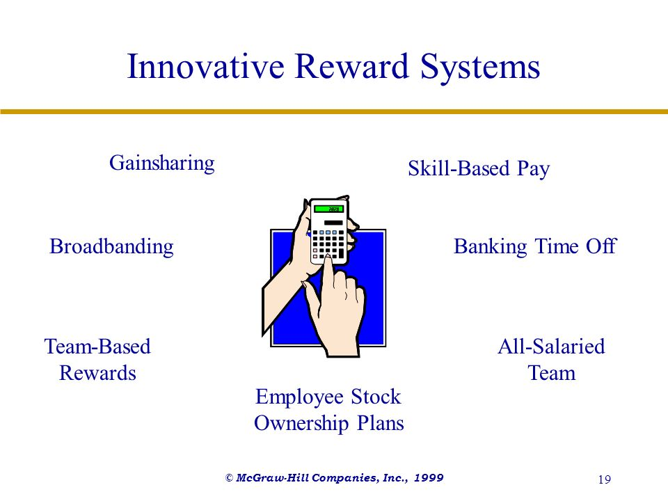 Innovative Reward Systems