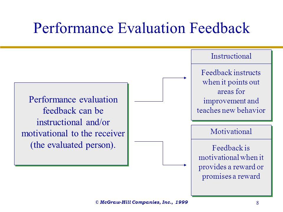 Performance Evaluation Feedback