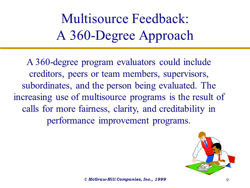 Multisource Feedback: A 360-Degree Approach