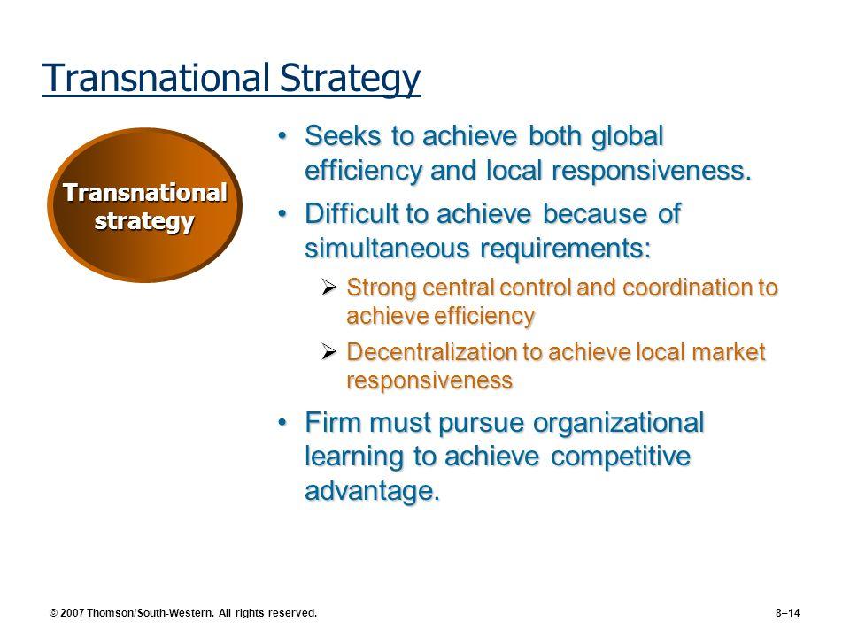 Transnational Strategy