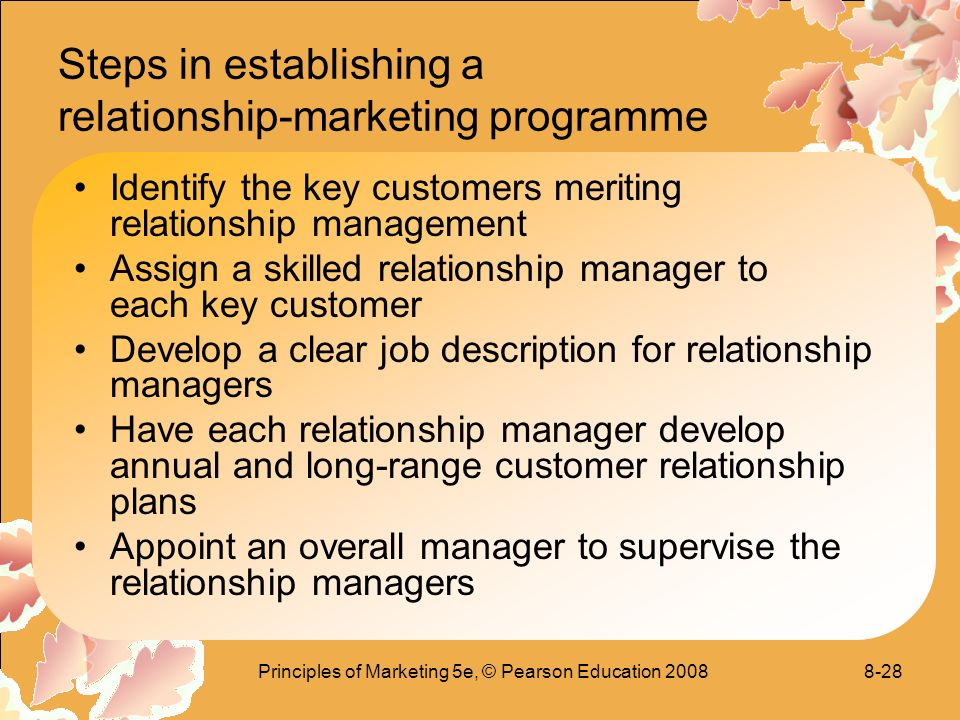 describe the development of relationship marketing