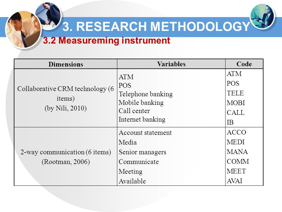 research instruments in research methodology pdf