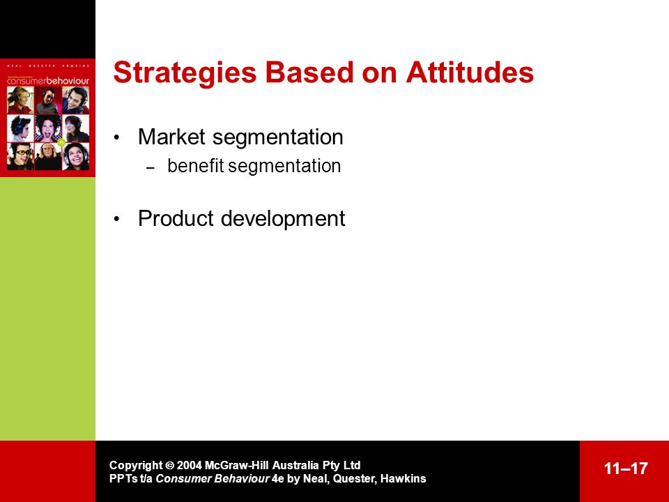 Strategies Based on Attitudes