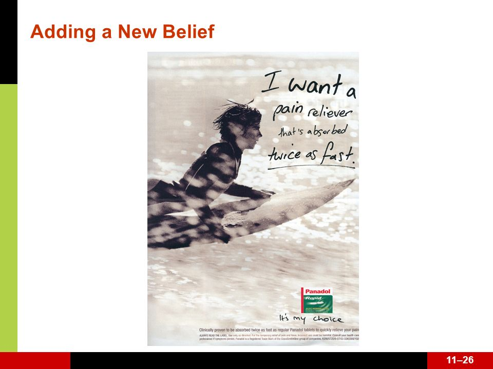 Adding a New Belief See page 344.