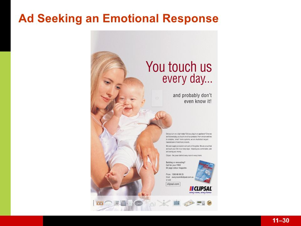 Ad Seeking an Emotional Response