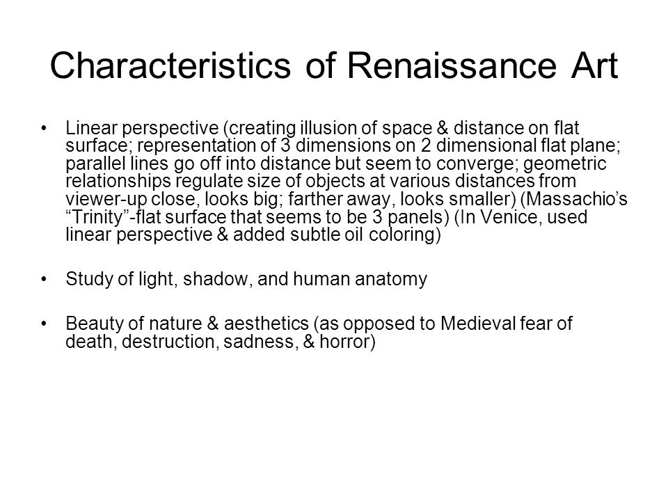 "Characteristics Of Line In Art : Renaissance french ""be born again ppt download"