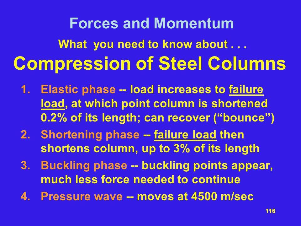 Compression of Steel Columns