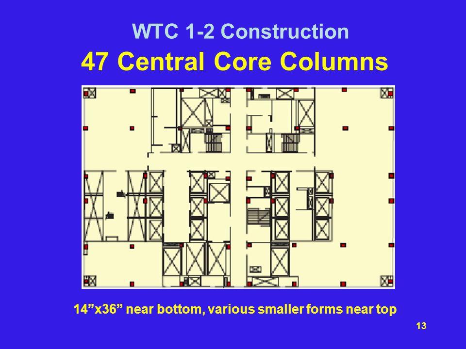 14 x36 near bottom, various smaller forms near top