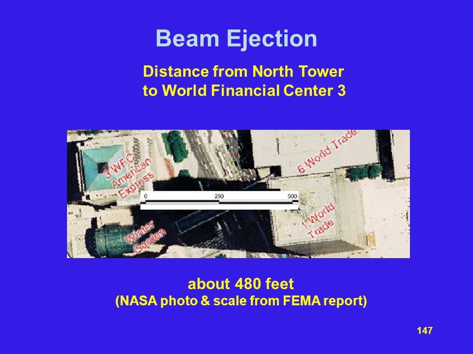 (NASA photo & scale from FEMA report)