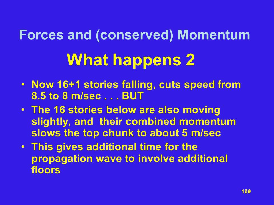 Forces and (conserved) Momentum