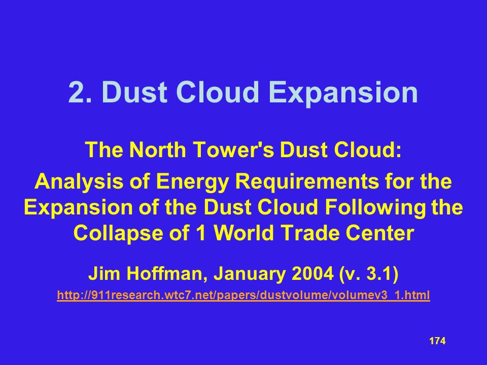 The North Tower s Dust Cloud: Jim Hoffman, January 2004 (v. 3.1)