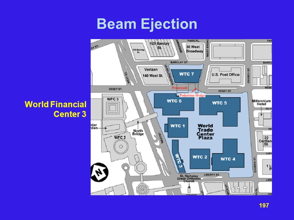 Beam Ejection World Financial Center 3