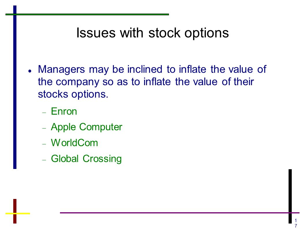 Stock options startup value