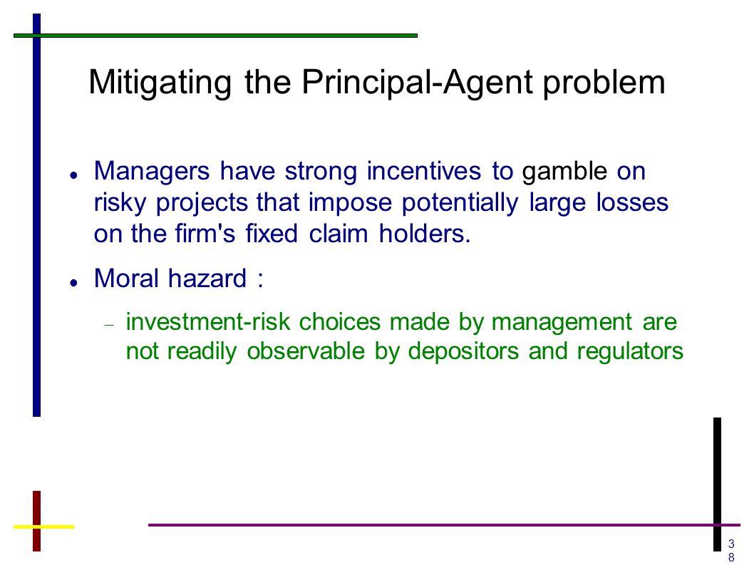 Stock options principal agent problem