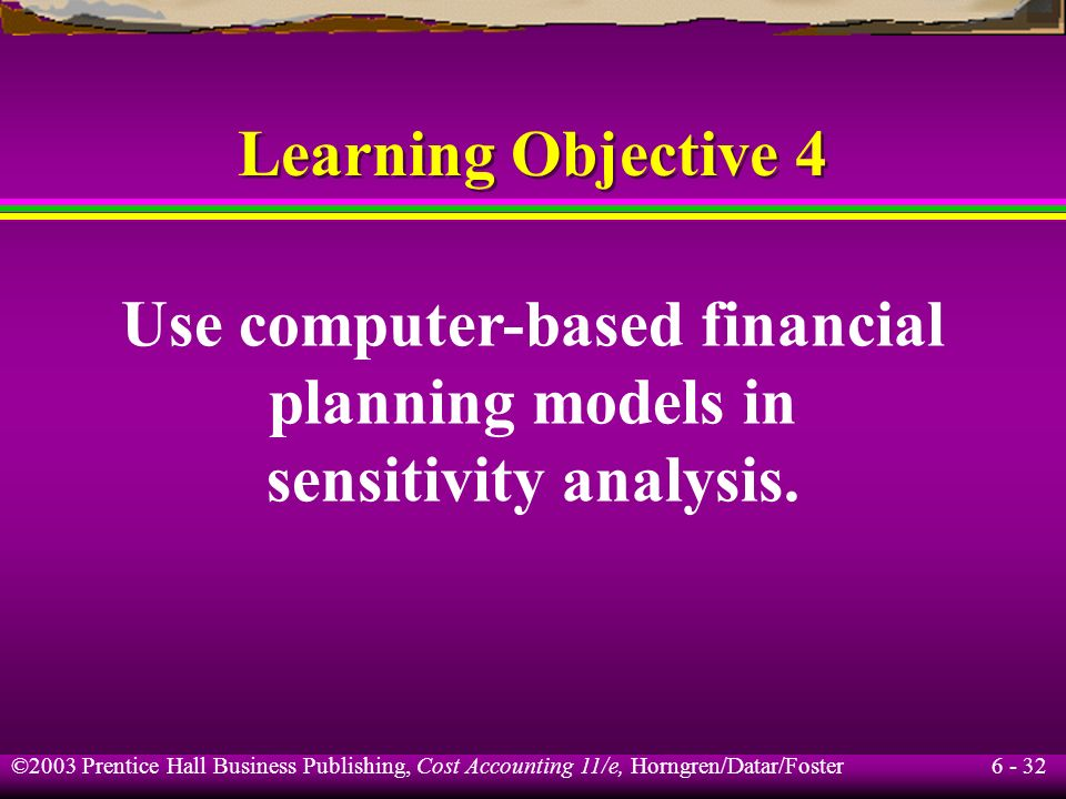 Use computer-based financial