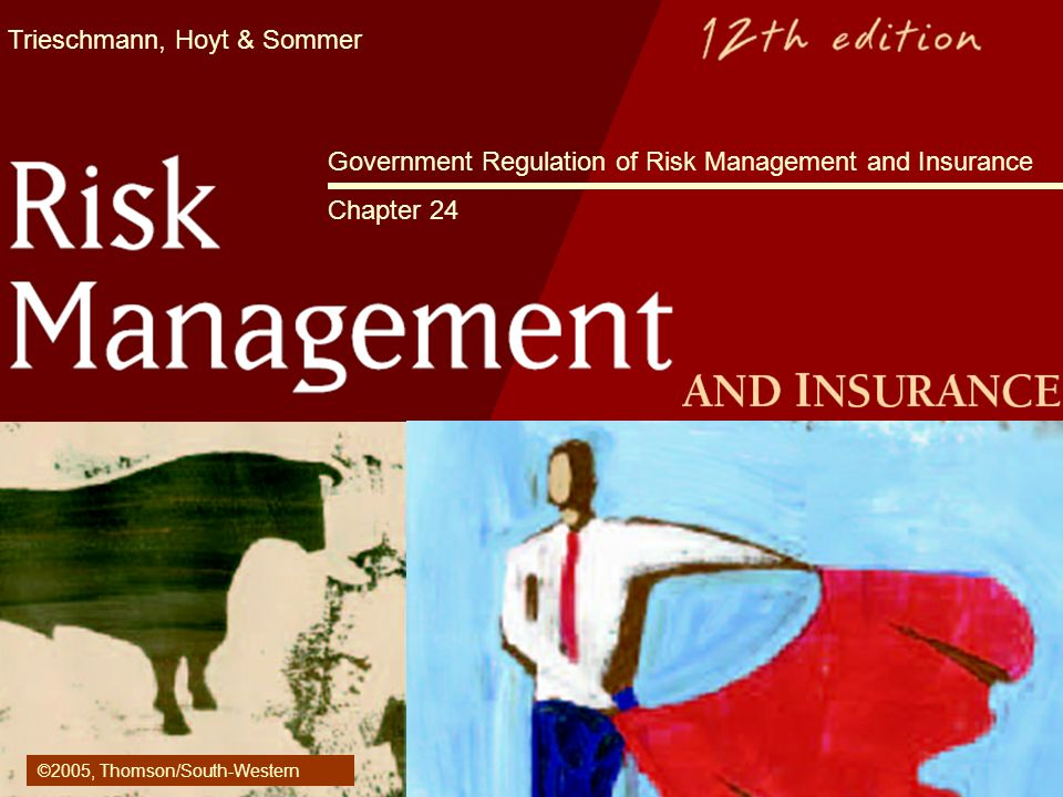 Government Regulation of Risk Management and Insurance Chapter 24