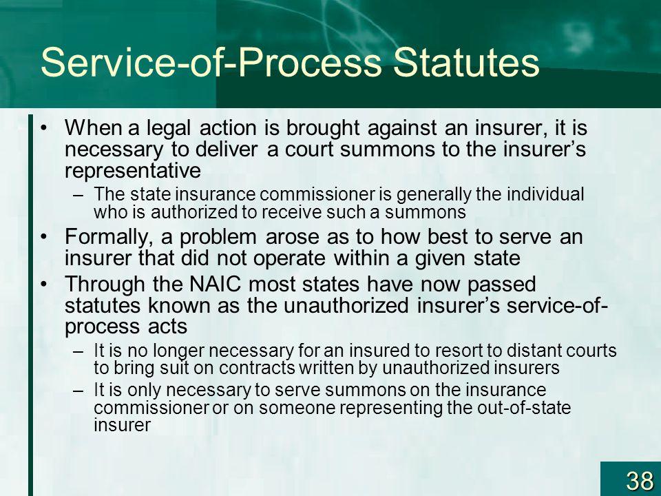 Service-of-Process Statutes