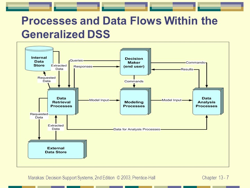 Processes and Data Flows Within the Generalized DSS