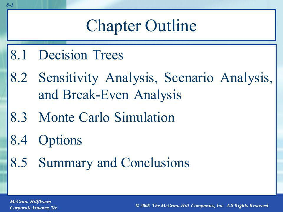 Chapter Outline 8.1 Decision Trees