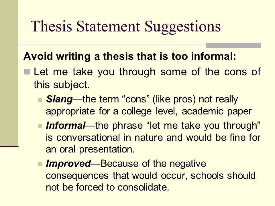 which of the following is an appropriate thesis statement for an essay about a novel Nvcc english 112 - final exam fall the thesis statement in an argument essay must include the following: 1 in an argument essay, your thesis statement must.