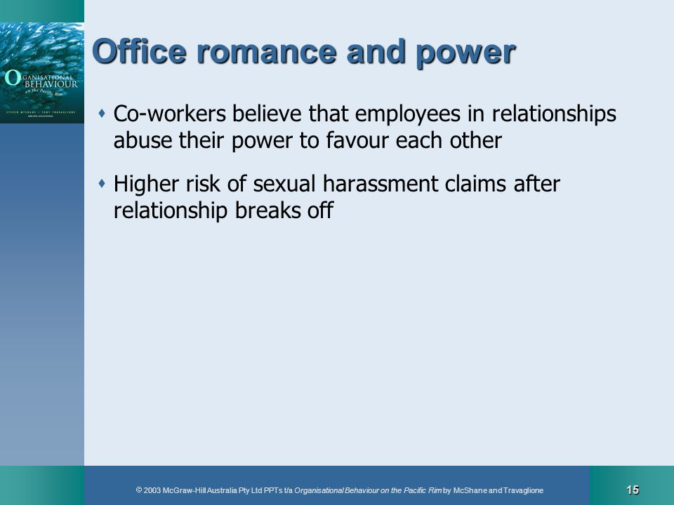 Office romance and power