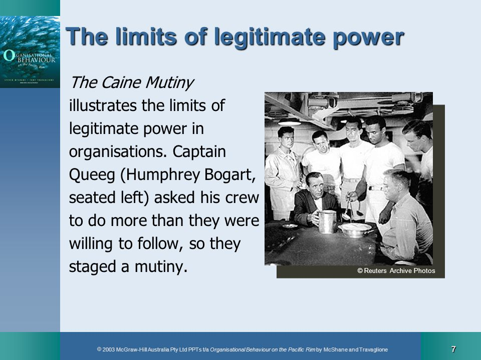 The limits of legitimate power