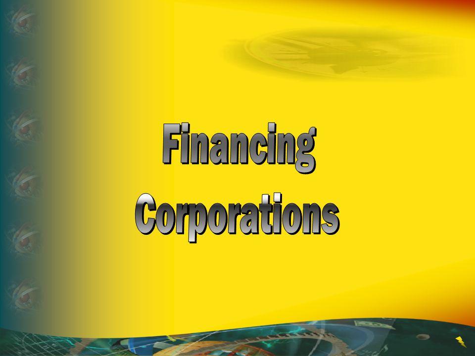 Financing Corporations