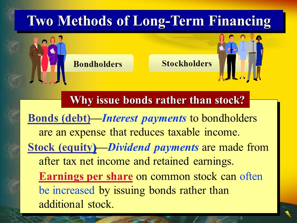 Two Methods of Long-Term Financing