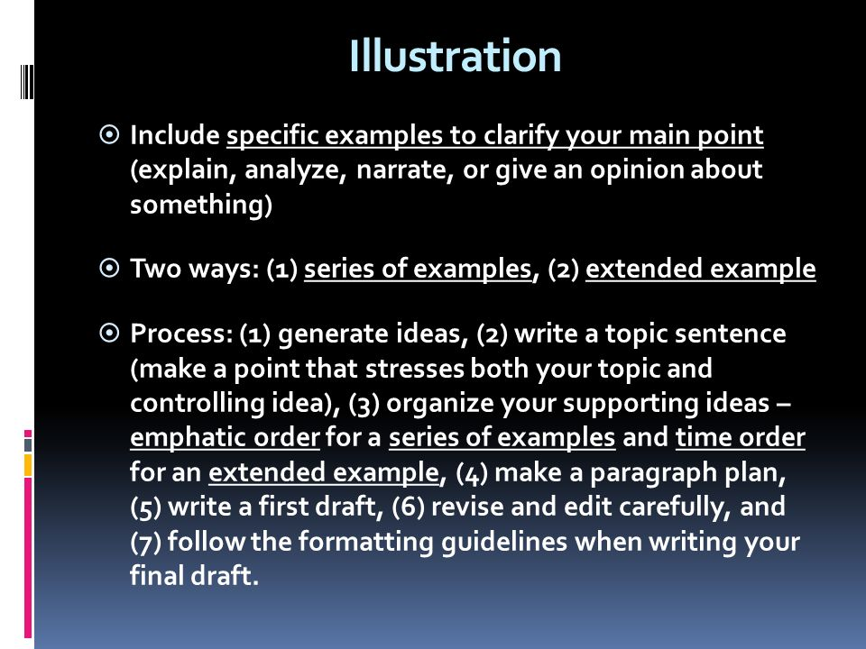 order of points in essay Of relevant points in the readings to your analysis of the material  different order ), we will consider the identical sentences as evidence of cheating and mark.
