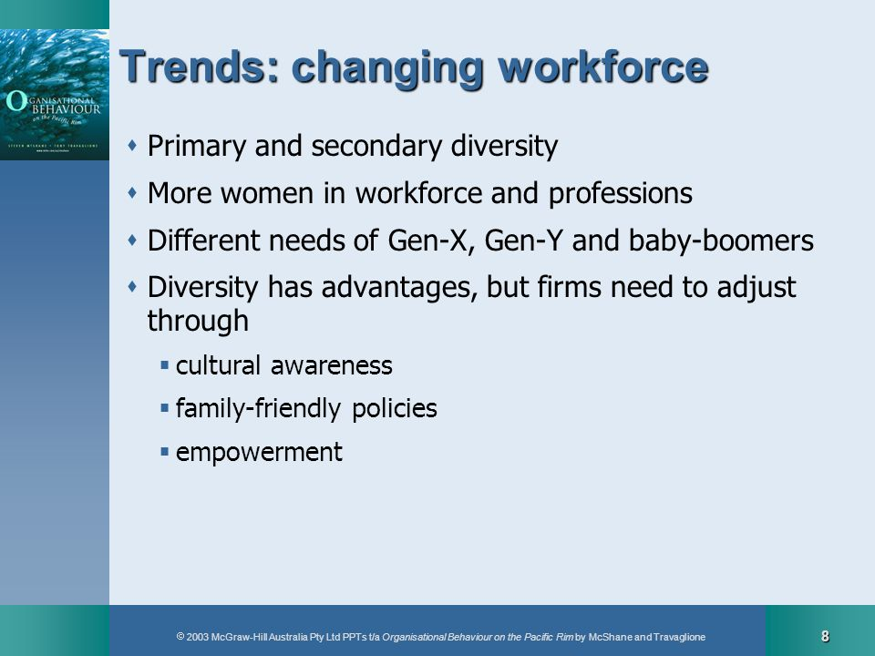 Trends: changing workforce