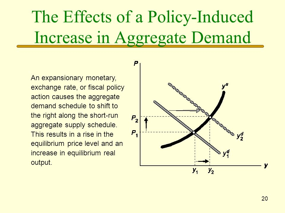 The Effects of a Policy-Induced Increase in Aggregate Demand