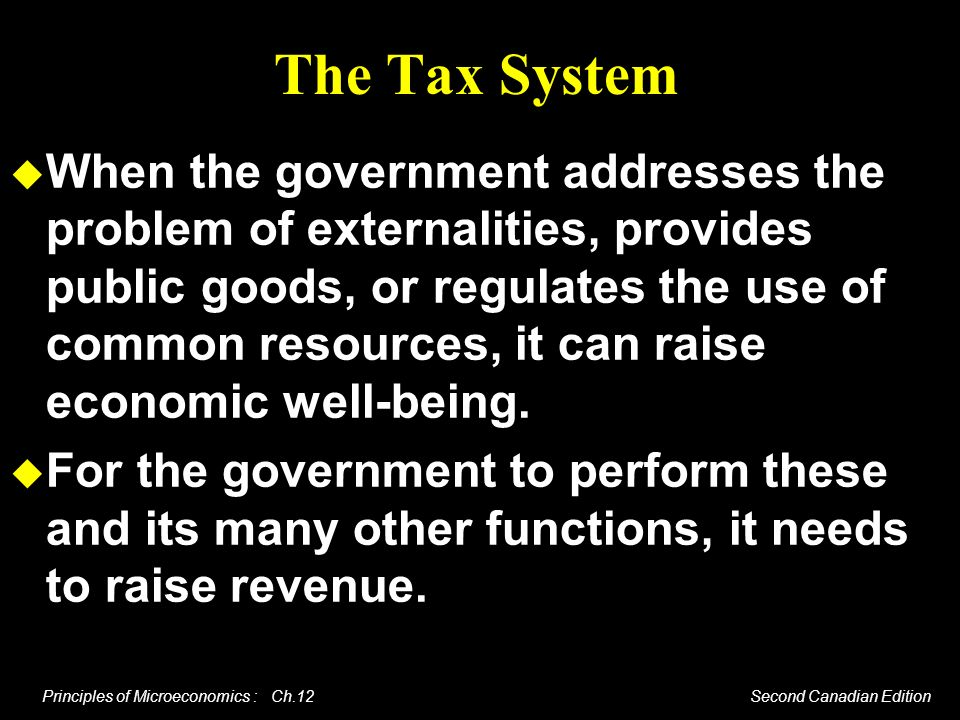The Tax System