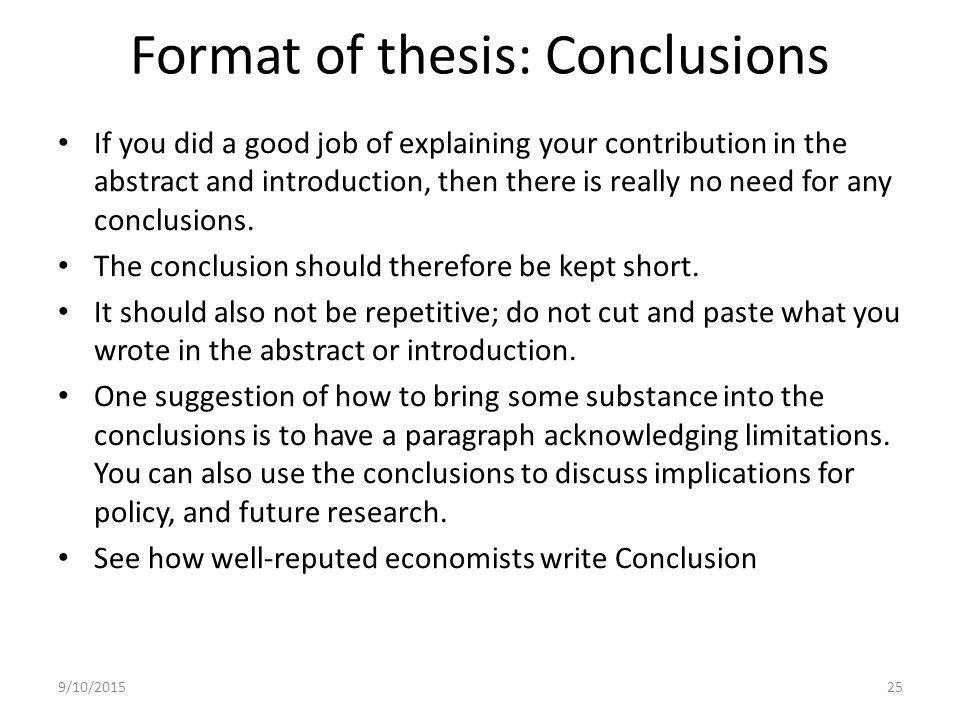 Get help writing a dissertation conclusion