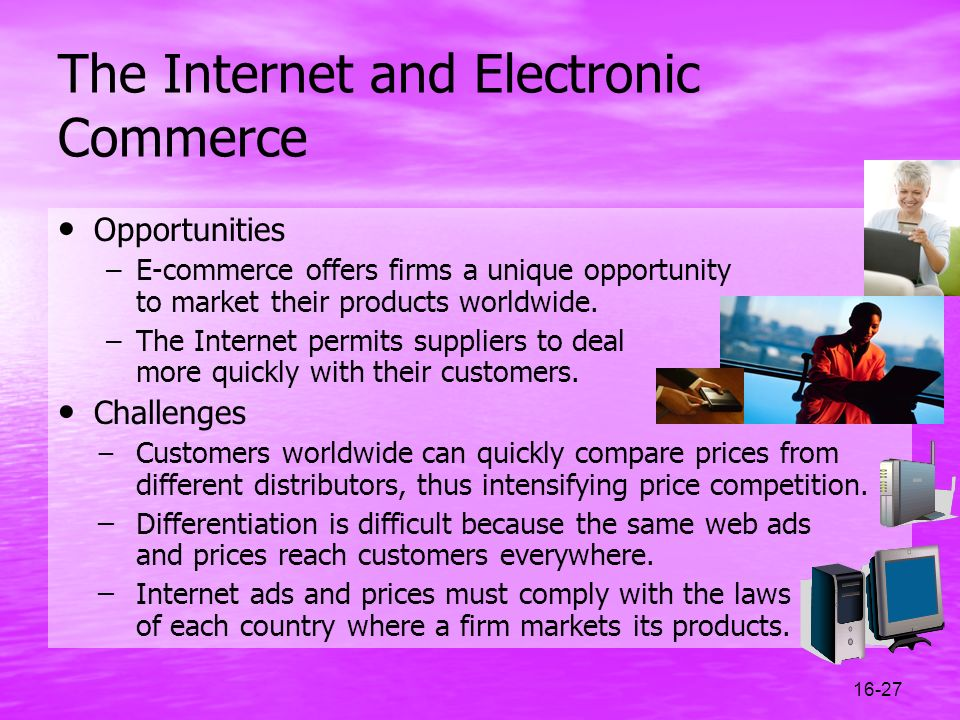 The Internet and Electronic Commerce