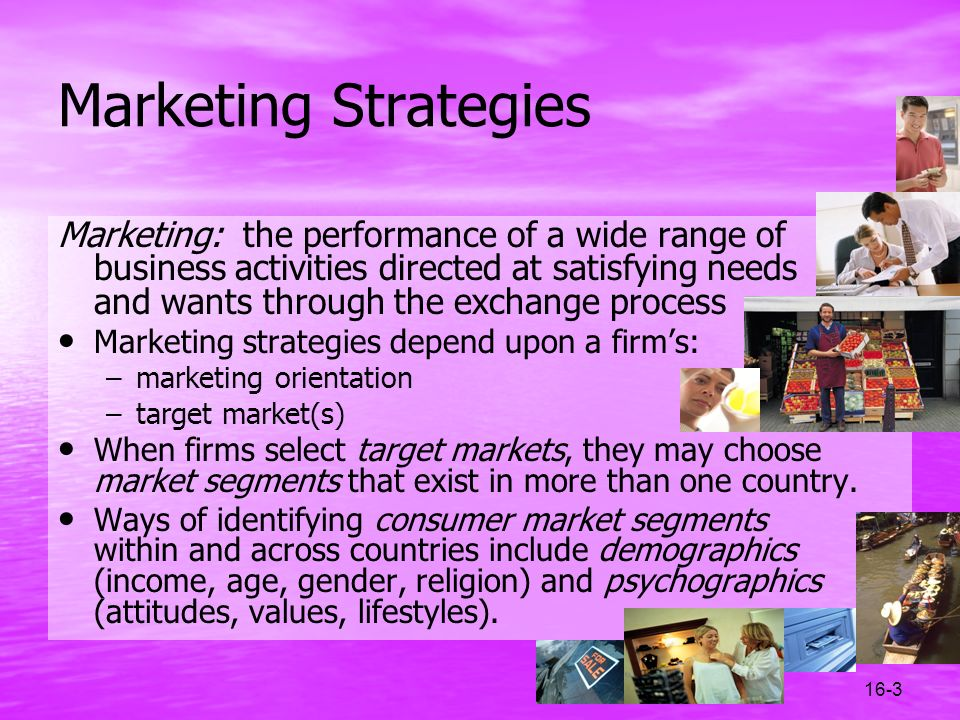 Marketing Strategies