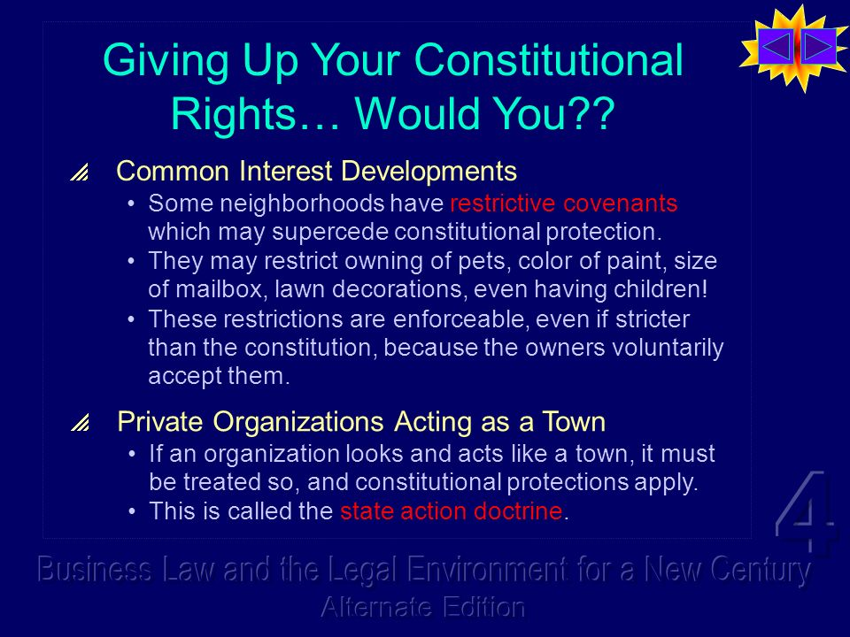 Giving Up Your Constitutional Rights… Would You