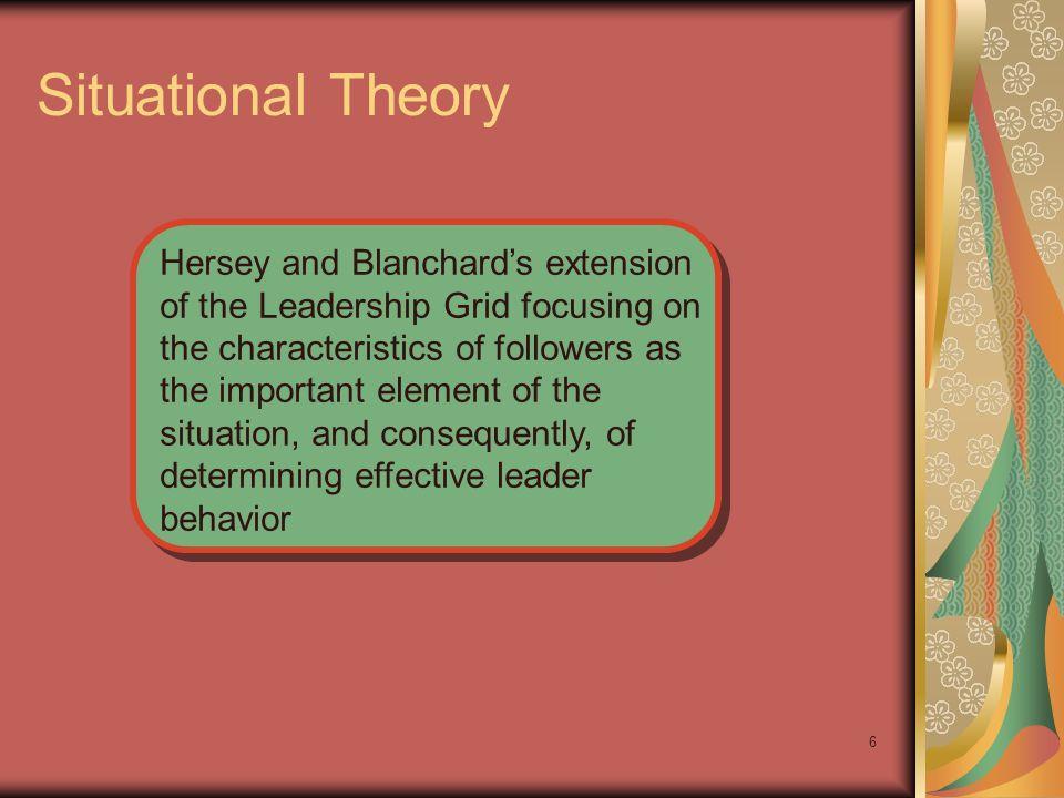 Situational Theory