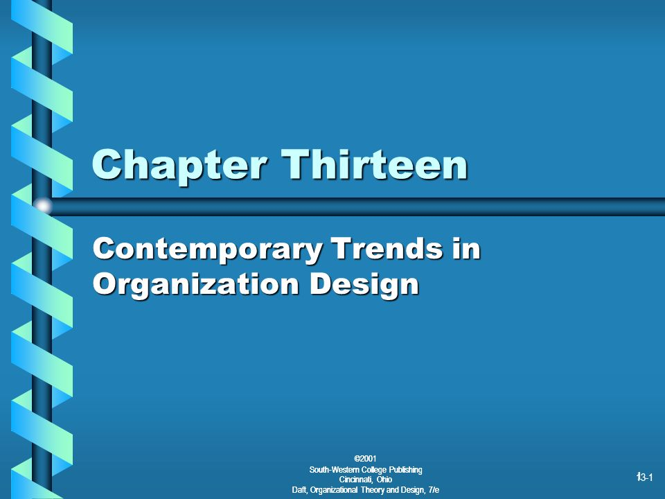 Contemporary Trends in Organization Design