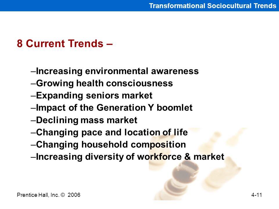 8 Current Trends – Increasing environmental awareness