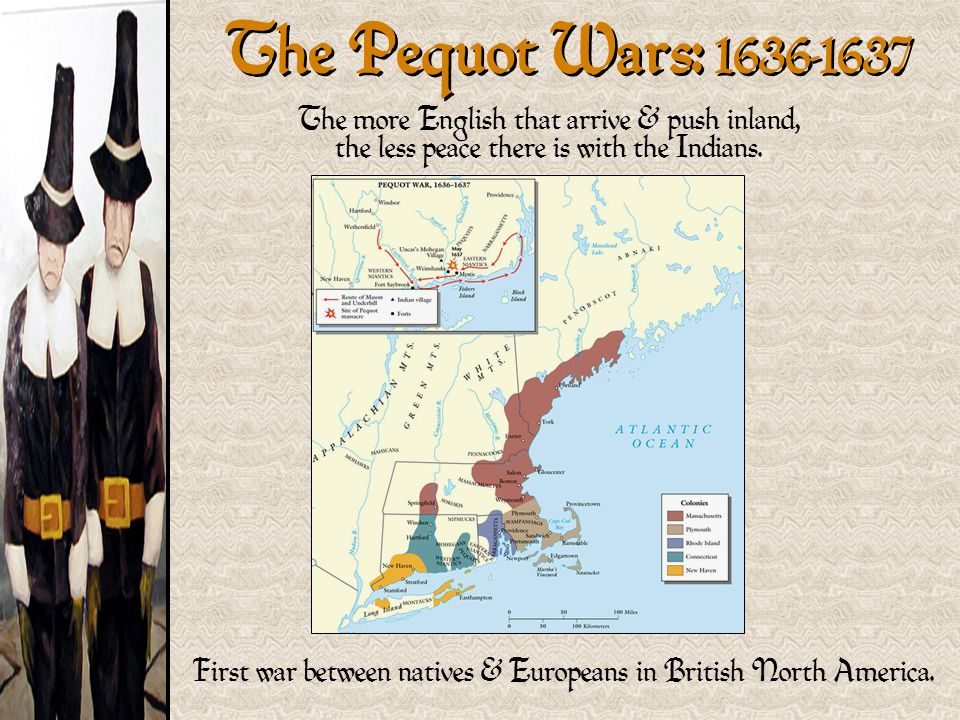 the war between the puritans and the pequot indians in 1637 I need the correct answers for all questionsquestion 1the results of the puritans' attack on the pequot village of mystic on may 26, 1637, wasconversion of the pequots to christianityan alliance between the pequots and narragansettspequot men, women, and children were murdered by.