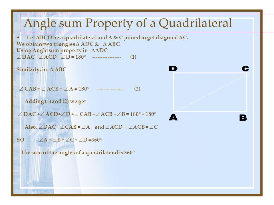 Quadrilaterals Pawan Singh T G T Maths K V No 2 Afs Suratgarh Ppt Download