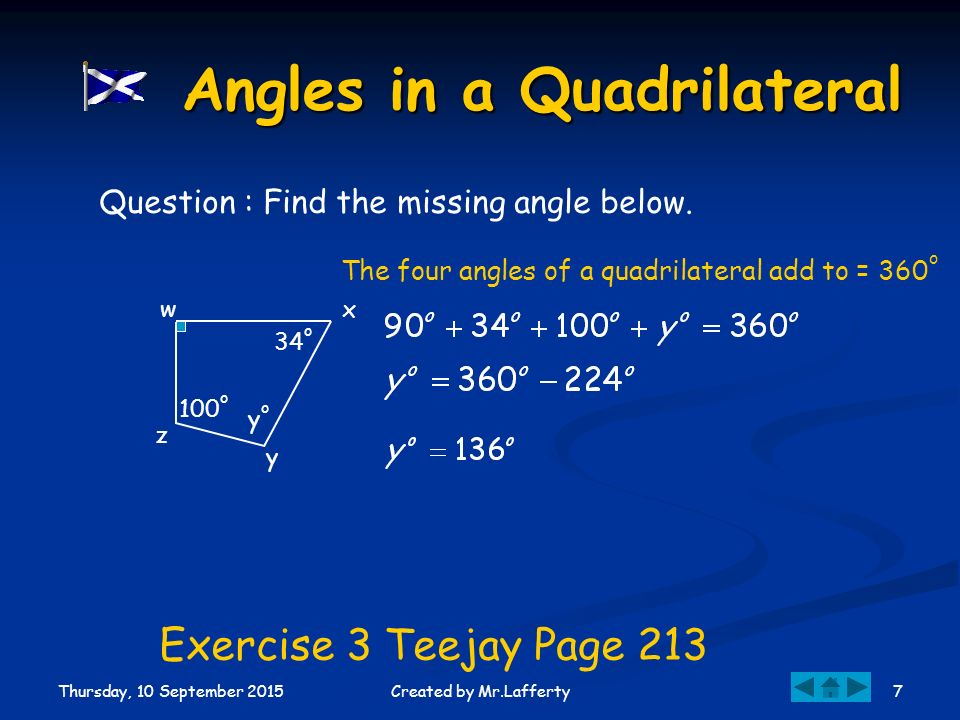 Level E Quadrilaterals...