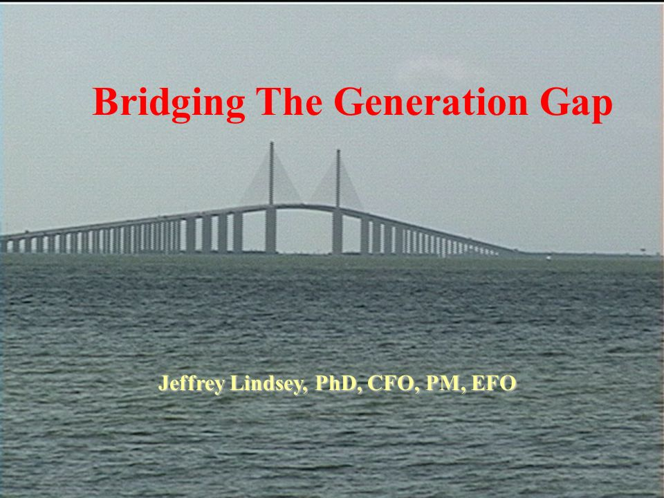 review on bridging the generation gap Bridge the generational gap: how to attract all ages to your club how to build  and  review the generation profile of your club members and officers do they.