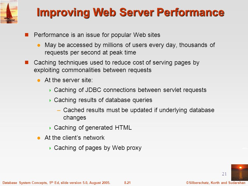 Improving Web Server Performance
