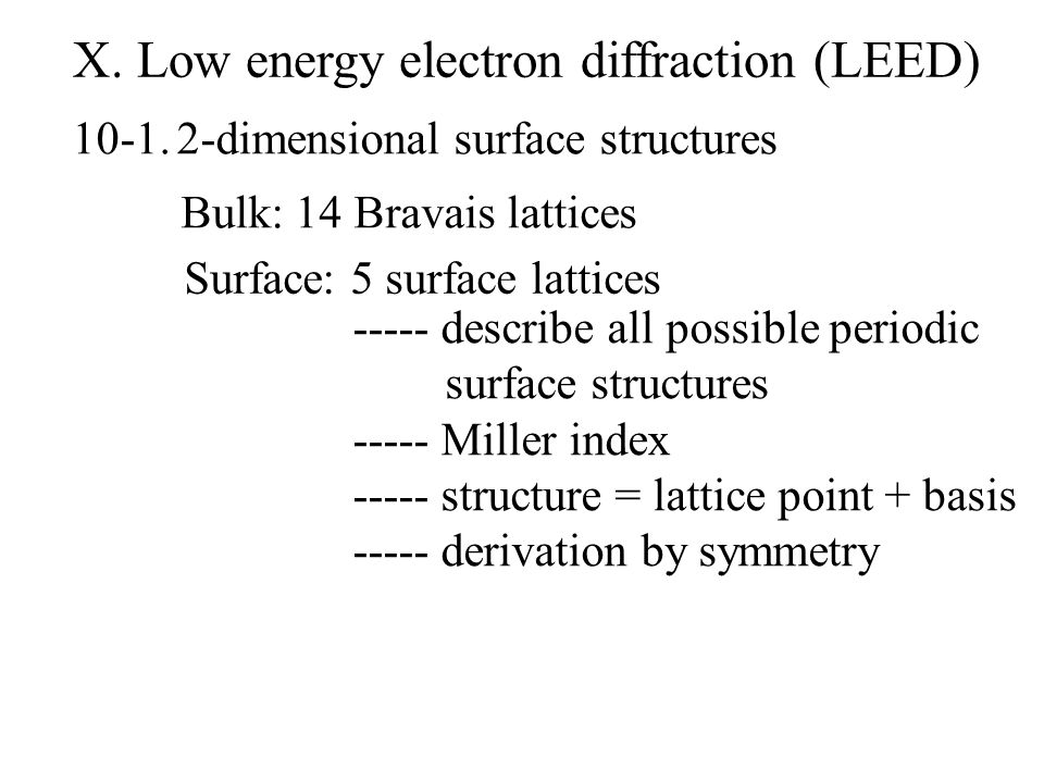 low energy electron diffraction thesis I have a question about how/why/where moire patterns show up in low energy electron diffraction (leed) brace yourselves for an incoming wall of.