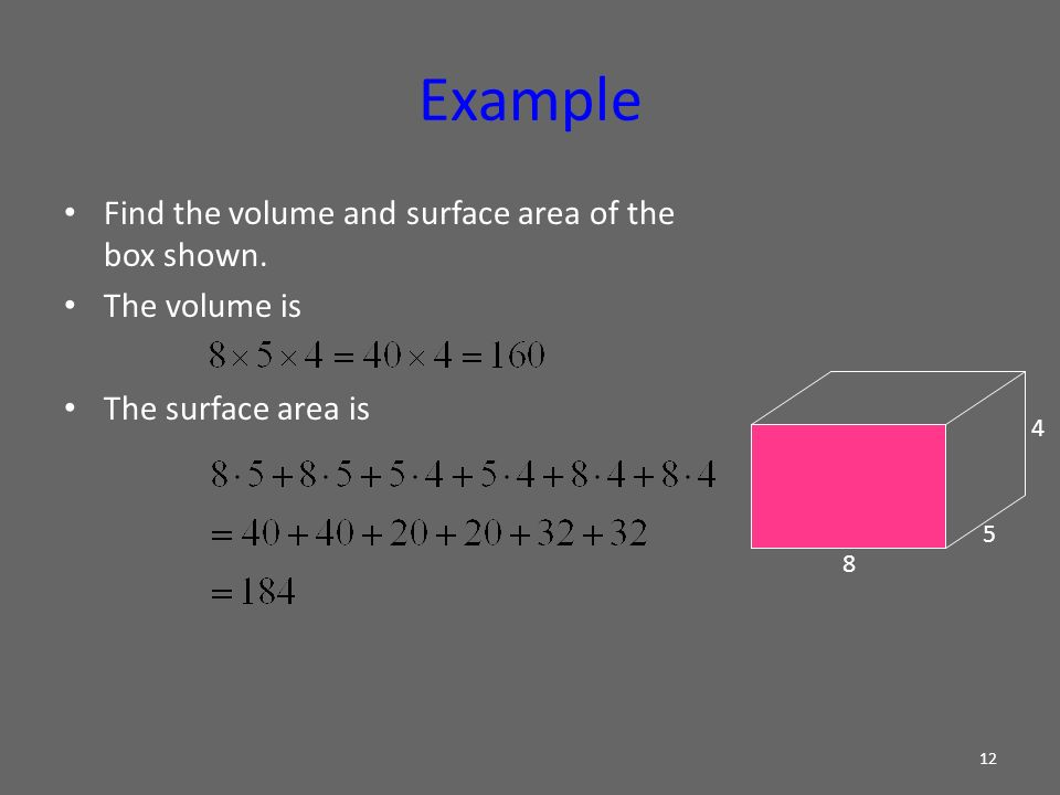 how to find minimum surface area of a rectangular box