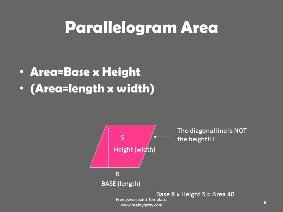 geometric shapes and formulas - ppt download, Powerpoint templates