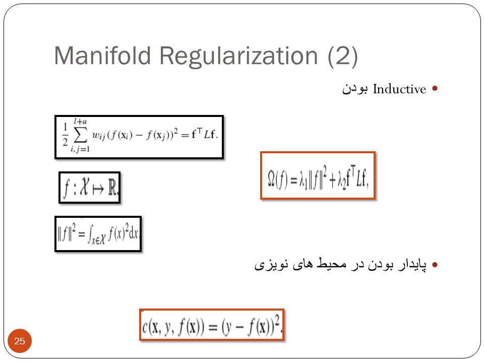 Manifold Regularization (2)