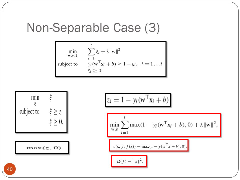 Non-Separable Case (3)