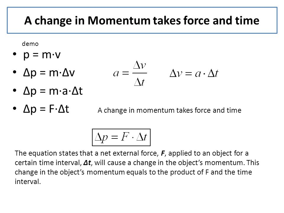 6.1 momentum and Impulse Objectives - ppt video online ...